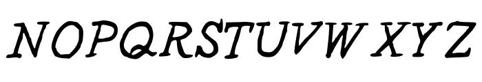 StPauls-Medium Font UPPERCASE