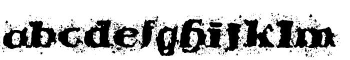 StableNo  by veredgf Font LOWERCASE