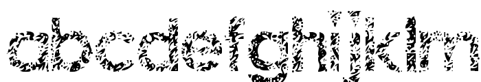Staccatissmo Font LOWERCASE