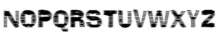 Stackz Font UPPERCASE