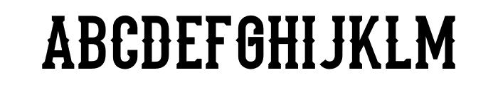 Stadium1946-Regular Font UPPERCASE