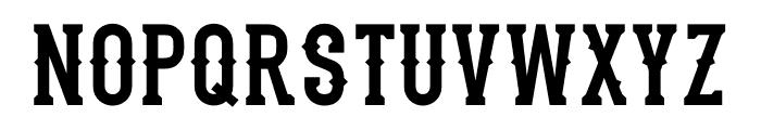 Stadium1946-Regular Font LOWERCASE