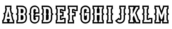 Stadium1956-Regular Font UPPERCASE