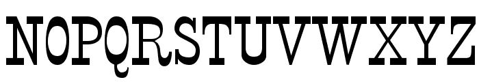 StageCoach Regular Font UPPERCASE