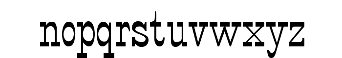 StageCoach Regular Font LOWERCASE