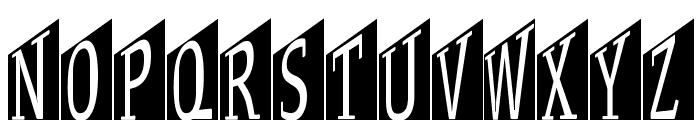 StageGlyphsTwo Font UPPERCASE