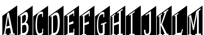 StageGlyphsTwo Font LOWERCASE