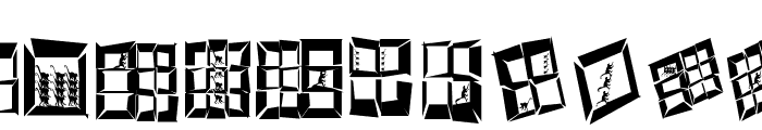 StagesAfterEarthquake Font UPPERCASE