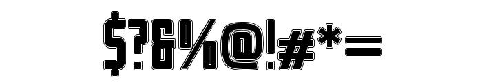 Stahlbetontr?ger-College Font OTHER CHARS