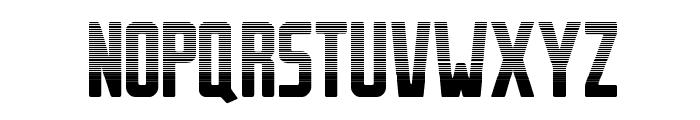 Stahlbetontr?ger-Stripes Font UPPERCASE