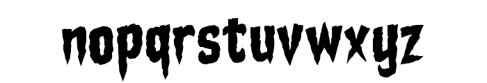 Stake Through the Heart BB Font LOWERCASE