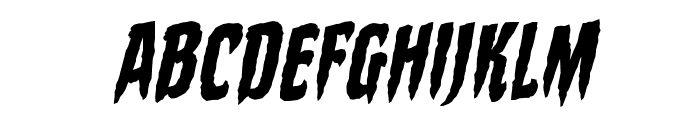 StakeThroughtheHeartBB-Italic Font UPPERCASE
