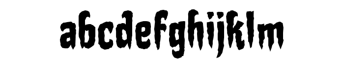 StakeThroughtheHeartBB Font LOWERCASE