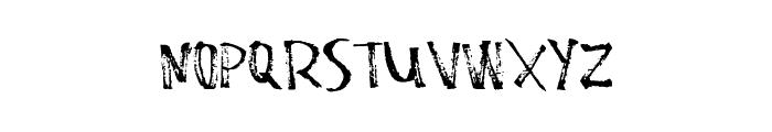 StaleMarker Font LOWERCASE