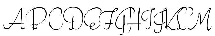 Stalemate Font UPPERCASE