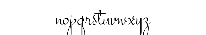 Stalemate Font LOWERCASE