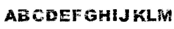 Stamp Font UPPERCASE
