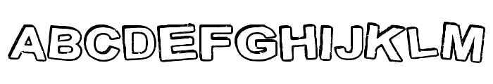 StampInk Font UPPERCASE
