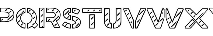 Stamped Navy Font Font UPPERCASE