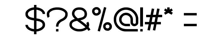 Standard International Font OTHER CHARS