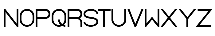 Standard International Font UPPERCASE
