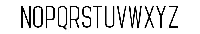 StandarisRegular Font LOWERCASE