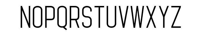 Standaris Font LOWERCASE