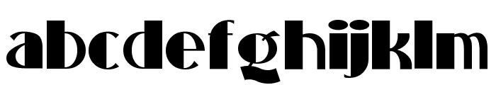 StandingRoomOnly Font LOWERCASE