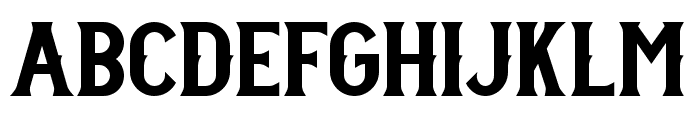 Stanley DEMO Font LOWERCASE