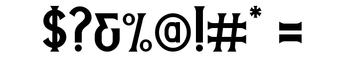 StanleyDEMO Font OTHER CHARS