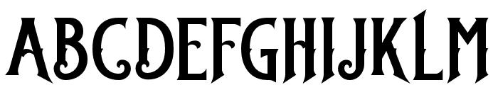 StanleyDEMO Font UPPERCASE