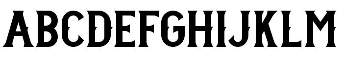 StanleyDEMO Font LOWERCASE