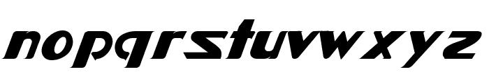 Star-Cinema-Fett-Kursiv Font LOWERCASE