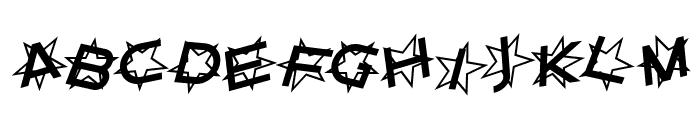 Star Dust Italic Font UPPERCASE