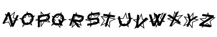 Star Dust Italic Font LOWERCASE