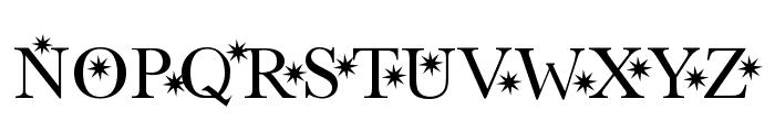 Star Hound Font UPPERCASE