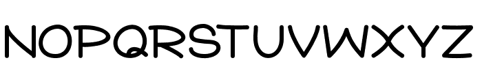 Star Jazz Font UPPERCASE