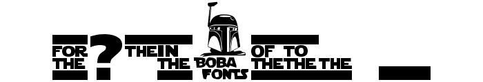 Star Jedi Logo DoubleLine1 Font OTHER CHARS