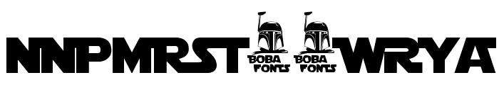 Star Jedi Logo DoubleLine1 Font UPPERCASE