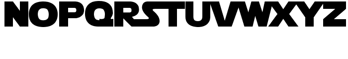 Star Jedi Logo DoubleLine2 Font LOWERCASE