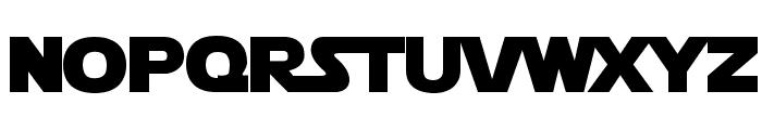 Star Jedi Logo MonoLine Font LOWERCASE
