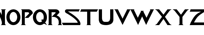 Star-Title Font UPPERCASE