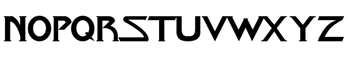 Star-Title Font LOWERCASE