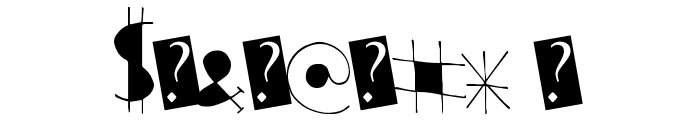 StarRising Font OTHER CHARS