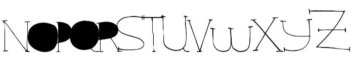 StarRising Font UPPERCASE
