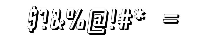 StarTrekEnterpriseFuture-Italic Font OTHER CHARS