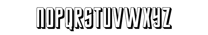 StarTrekFuture Font UPPERCASE