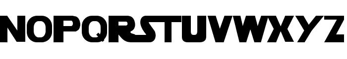 StarVader Font UPPERCASE