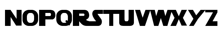 StarVader Font LOWERCASE