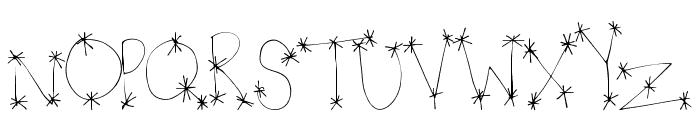 StarWonder Font LOWERCASE